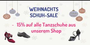 X-Mas Schuh Sale in der Tanzwelt Zehender