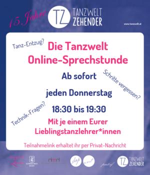 Tanzwelt Online Sprechstunde NEU